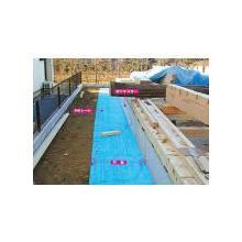 建築基礎の泥除けシート トビチラン 製品画像