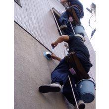 工事 ロープ作業(足場不要)による外壁修繕工事 製品画像