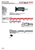 【製品カタログ】ワイヤレスデジタルデプスゲージ『MarCal 30 EWRi 』 表紙画像