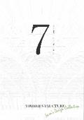事例集『SEVEN TIMBER STRUCTURE』 表紙画像