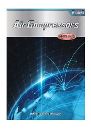■コンプレッサー■ Air Compressors総合カタログ / 富士コンプレッサー製作所 表紙画像