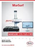 【製品カタログ】表面粗さ・輪郭形状測定機『MarSurf CD/GD/VD』 表紙画像