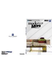 住宅用窓シャッター『マドモア』総合カタログ 表紙画像