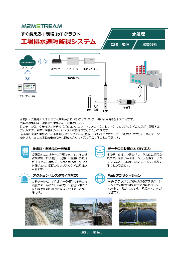 【製造IoT事例】工場排水遠隔監視システム(水質計・流量計) 製品カタログ 表紙画像
