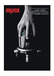 レーザー墨出器 ダイジェストカタログ 表紙画像