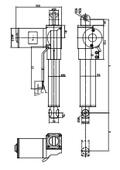 電動アクチュエータ『801型』 スタンダード図面 表紙画像