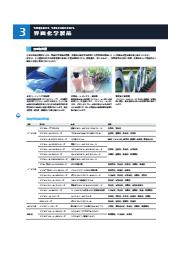 界面化学品「汎用型界面活性剤」の製品カタログ(化学品総合カタログ抜粋) 表紙画像