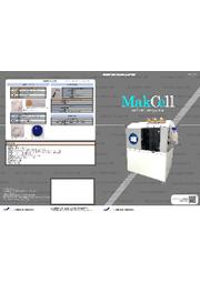 卓上型自動細胞培養装置『MakCell』 表紙画像