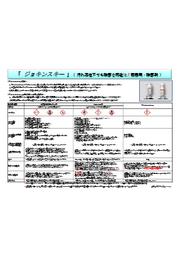 ジョキンスキー GHS分類比較表(カタログ) 表紙画像