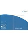 YITOAマイクロテクノロジー株式会社 会社案内 表紙画像