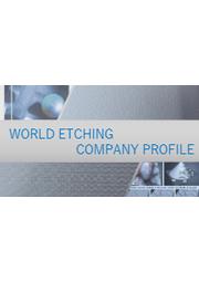 株式会社ワールドエッチング 会社案内 表紙画像