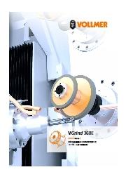 5軸超硬工具研削盤『VGrind 360E』 表紙画像