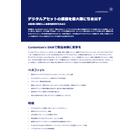 【データシート】Contentserv デジタルアセット管理 DAM  表紙画像