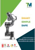 『テックマンロボット』社製 協働ロボット製品カタログ 表紙画像