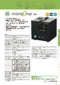 デジタル温度調節器 「monoone-200」 表紙画像