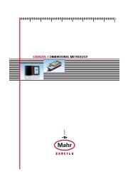 Mahr総合カタログ 表紙画像