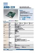 【最新】AMD Mini-ITXマザーボード、AIMB-229