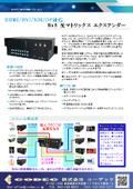 光マトリックスエクステンダー『AOPT-MX0808-FD-2LC』カタログ