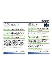ディーゼルオイルパンフレット『TEXT』 表紙画像