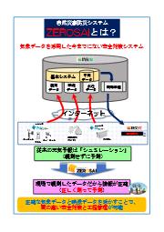 自然災害防災システム「ZEROSAI」とは? 表紙画像