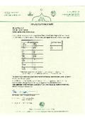 HALAL CERTIFICATION(ハラル対応の証書)