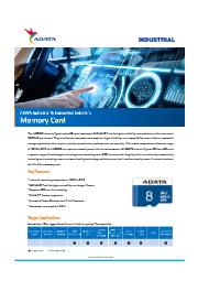 産業向けmicroSDカードIUDD362 (SLC) 表紙画像