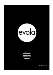 高圧メラミン化粧板『evola』 国内在庫品カタログ 表紙画像
