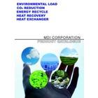 排熱利用・熱回収の専門メーカー -------MDI株式会社 表紙画像