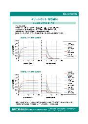 【クリーンホット技術資料】2-4.昇温・降温特性(同一流量) 表紙画像
