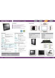 17型第5世代Core-i5-5200U-2.2GHz CPU搭載の高性能ファンレス・タッチパネルPC『WLP-7D20-17』 表紙画像
