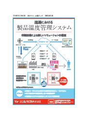 流通における製品温度管理システム 表紙画像