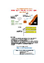 傾斜計測装置『地すべり用心棒』 表紙画像