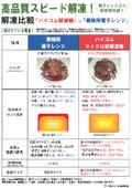 【解凍比較】ハイコム解凍機 VS 業務用電子レンジ