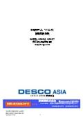 HEPA VAC 掃除機 MODEL: 35852,35857 取扱説明書 表紙画像