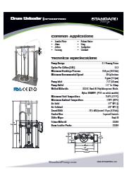 サニタリー ドラムアンローダー(ピストンポンプ式) SPTSU6PPBSS 表紙画像