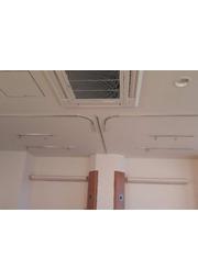 セレクト17アルミシルバー直付 点滴レール直付施工事例 表紙画像