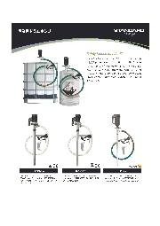 産業用ドラムポンプ ラインナップ 表紙画像