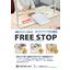 上下にスライド ~ 自立式飛沫対策スクリーン ~/ FREE STOP 表紙画像