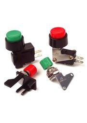 VAQシリーズ、プッシュボタン付きのマイクロスイッチ。 表紙画像