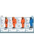 化学防護服『SPC 4800/4900・CPS5900/7900』