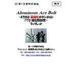 「高強度アルミボルト(Aluminum Ace Bolt)」ブックレット(第1弾) 表紙画像