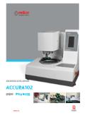 試料研磨機『ACCURA-102』 表紙画像