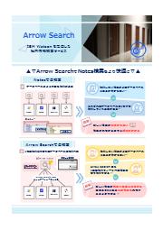 企業内情報検索サービス『Arrow Search』:IBM Watson を活用したを情報検索サービス 表紙画像