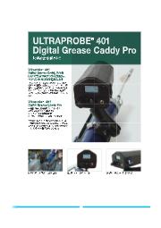 潤滑専用ツール『ULTRAPROBE 401』 表紙画像