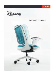オフィスチェアー『RIDE(ライド)』 表紙画像
