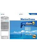船舶専用油圧式クレーン『マリンクレーン』 表紙画像