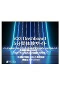 iQ3 Dashboard5分間体験サイト簡易説明マニュアル
