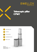 エバリックス「ピラー型アクチュエータ CPMTシリーズ」(データーシート(英語)) 表紙画像