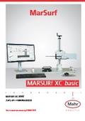 【製品カタログ】スタンダード輪郭形状測定機『MarSurf XC Basic』 表紙画像