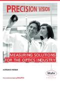 【製品カタログ】光学機器用 測定機器『MarOpto MarSurf/MarForm: Solutions Optics』 表紙画像